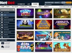 netbet casino giochi slot
