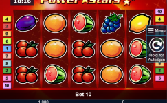 novomatic casino power stars slot