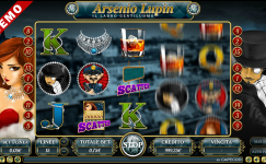 arsene lupin slot gratis on line