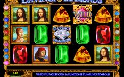 macchine slot da vinci diamonds gratis
