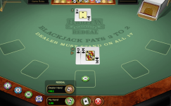 european blackjack redeal