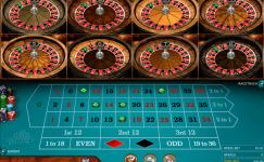 multi wheel european roulette gold series