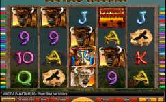 buffalo thunder novomatic slot gratis