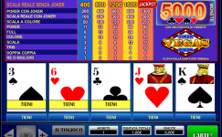 Video poker gratis slot machine