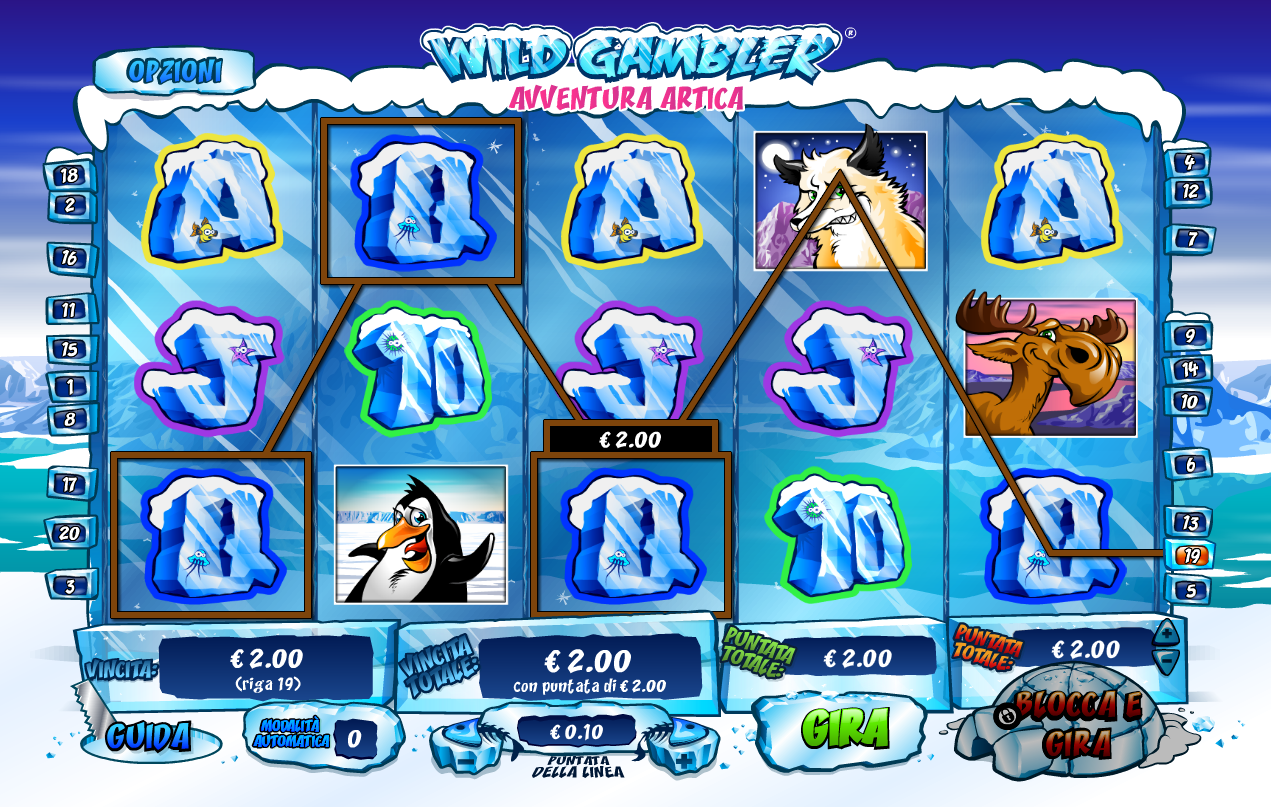 Wild Gambler Arctic Adventure